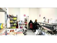 Studio space in shared creative design studio (all bills inc.)