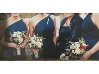 3 navy bridesmaid dresses- can be bought separately or all together