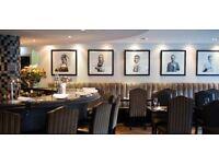 Restaurant Waiting Staff - Award Winning Seafood Restaurant