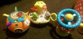 Bundle 3 Babies toys vtech & Elc