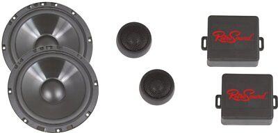 Water Resistant Component Speaker System - Retrosound 6.5 Inch Ultra Thin Water Resistant Component Speaker System