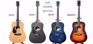 Acoustic guitars beginners starting at $79.99 electric, bass guitars, ukuleles, left handed guitars