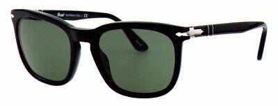 Persol Damen Herren Sonnenbrille PO3193-S 95/31 55mm schwarz Etui H