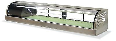 Hoshizaki Hnc-180ba 71 Refrigerated Sushi Glass Case Stainless Counter Top