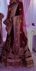 Hiring wedding dress