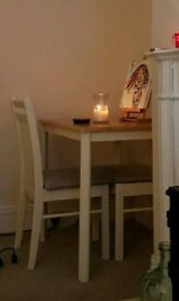 Small dining table an