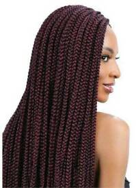BOXBRAIDS TWISTS CORNROWS CROCHETBRAIDS FAUXLOCS ANY SIZE, LENGTH, DESIGN AND STYLE FROM £40