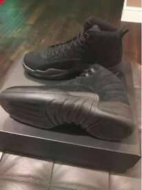 BRAND NEW & BOXED Nike Air Jordan 12 Black OVO - UK 9.5
