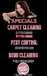 cheap bond cleaning  fixed prices $300 Brisbane City Brisbane North West Preview