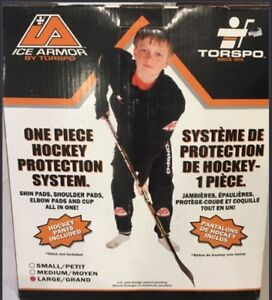 TORSPO KIDS LARGE HOCKEY PROTECTION SYSTEM OUTFIT BNIB