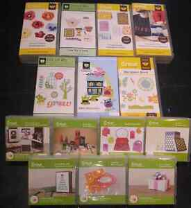 Used Linked Cricut Cartridges - only $10