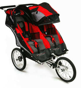 Double Jogging Stroller X 2 - $150
