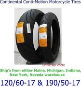 Motorcycle Tires 120/60/17