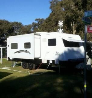 2013 Jayco Sterling Outback Caravan 25.78 - 5 Star Hotel on Weels