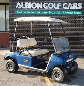 Rare Find in 2003 Club Car DS, Gas Powered