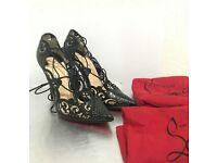 """ Christian Louboutin women's Impera heels"""