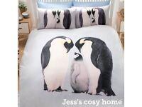 Penguin Duvet Set