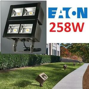 NEW EATON LED FLOODLIGHT 256W NFFLD-L-B100-T 250179617 TRUNNION MOUNT LARGE FLOOD LIGHT LIGHTING FIXTURE