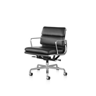 Genuine Eames Soft Pad Management Chairs with Arms