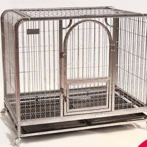 Dog kennel, dog crate, elevated chew proof dog bed