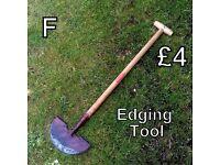 Gardening Tools (F) - Edging Tool