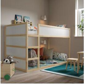 kids loft/high bed frame