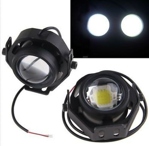 Adventure motorcycle CREE LED spotlights spot lights spots lamp 1000 lumen Bright! Triumph Tiger 800
