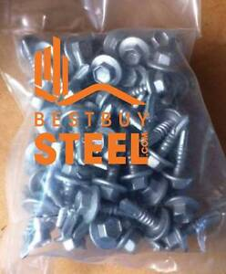 DISCOUNTED TEK SCREWS  - Bag 100 from $13.50. Call 1800-BUY-STEEL