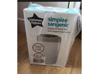Tommee tippee nappy bin and cartidge