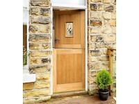 howdens stable oak triple glazed door