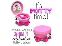 Potty Minnie Mouse 3in1