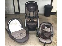 Peg Perego Book Pop up puschair travel system