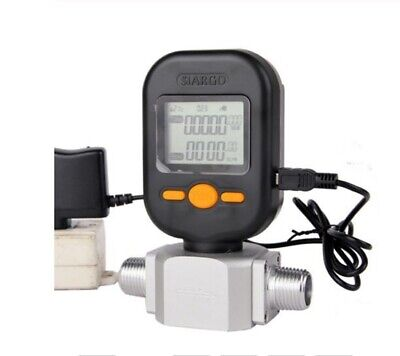 Flow Meter 200lmin Digital Gas Air Nitrogen Oxygen Mass Flow Meter Rs485 Modbus