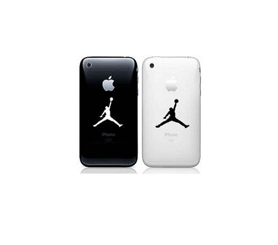 2X Apple iPhone 6 iPhone 6 plus - Decal Sticker Michael Jordan MJ Basketball