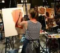 Private One-On-One Oil Painting Lessons