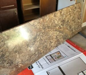 New, never used laminate countertop