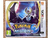 NEW Pokemon Moon Nintendo 3DS Game
