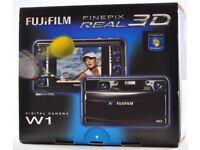 Fujifilm finepix 3D W1 camera.