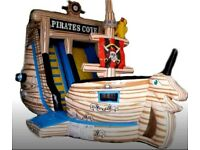 Bouncy Castle Pirate Ship
