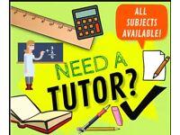 Experienced AQE & GL transfer test Summer Tutor
