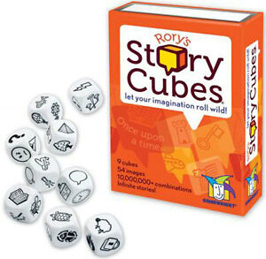 Rory's Story Cubes Dice Game From Gamewright