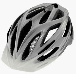 Casco-Montain-Bike-Bicicletta-Cratoni-Pacer-Modello-2013-Bianco-Argento-Lucido
