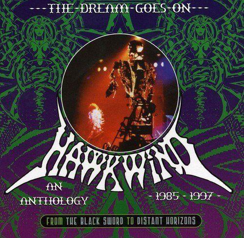 Hawkwind - The Dream Goes on 1985-1997 Box-Set 3CD Neu
