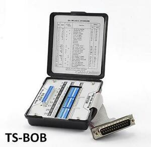 Pocket-Sized RS-232/Serial Break Out Box, CablesOnline TS-BOB