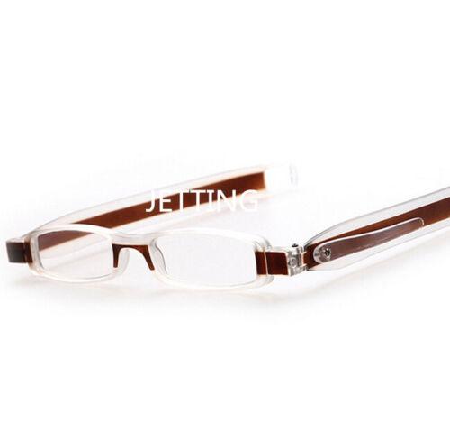 Slim Mini Folding Fashion Lesebrille Brillenleser von +1,5 bis +3, YLW Hz