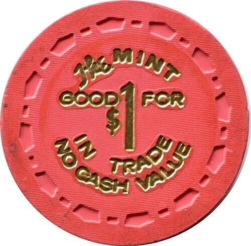 The Mint, Las Vegas $1.00 Casino Chip R6 Rare 31-75