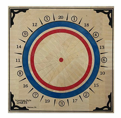 American Style Dartboard - Basswood, A.B.D.A. Approved