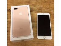iPhone 7 plus 128gb unlocked boxed