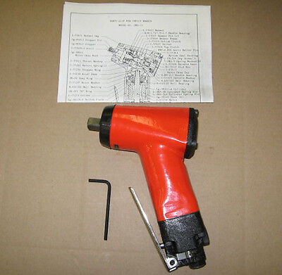 New Pneumatic 12 Impact Wrench Swh-13 Air Npk