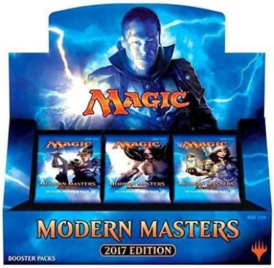 Magic The Gathering  Mtg Modern Masters 2017 Booster Box   Factory Sealed